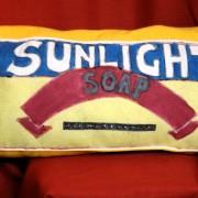 Sunlight Handpainted Cushion