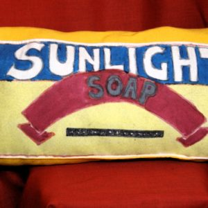 Sunlight Handpainted Cushion